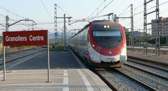 renfe granollers centre